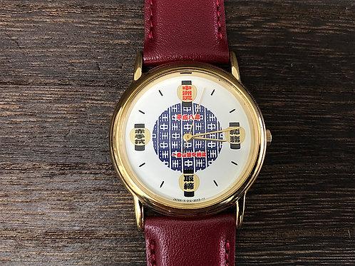 RICHO製 平成八年 博多山笠 中洲流 腕時計