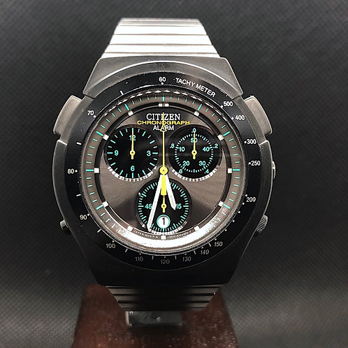 """CITIZEN re-issue SPORTE  RS """"TIC-TAC"""" EXCLUSIVE ALARM CHRONOGRAPH cal.3510"""