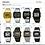 """Thumbnail: SEIKO Silver Wave DIGITAL DBF028 BLACK PVD A714-4010 """"RUNNING MAN"""""""