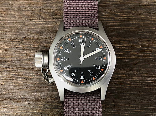 BROOKIANA Vintage military watch model of small-sized  BAV001