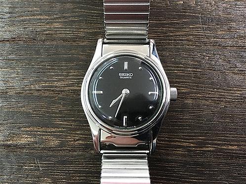 """SEIKO """"Coelacanth"""" SQWK018 2A27 盲人用時計 レディース ブラック"""