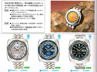 SEIKO 5Sports Re-ISSUE SBSS017 7S36
