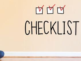 Free Printable checklist for the KonMari Method.
