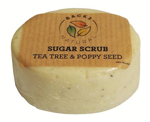 Tea Tree & Poppyseed Sugar Scrub