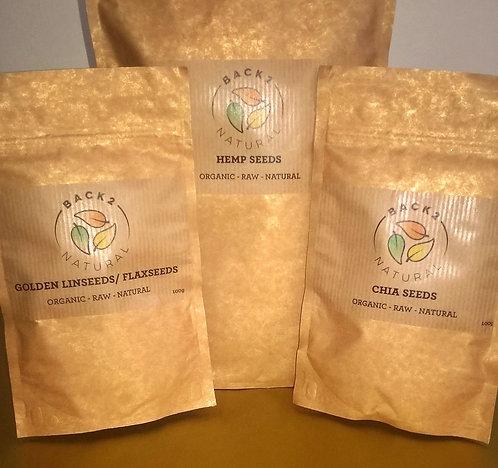 'Organic Seed Selection' (RRP £6.96)