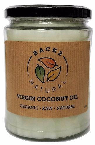 Organic Virgin Coconut Oil 500g