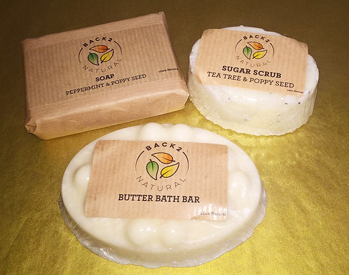 'Mini Natural Bath set' (RRP £7.27)