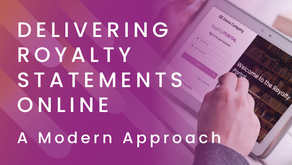 Delivering Royalty Statements Online: A Modern Approach