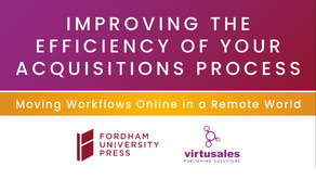 Improving the Efficiency of your Acquisition Process