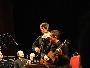 Simon Schembri with Yuri Bashmet