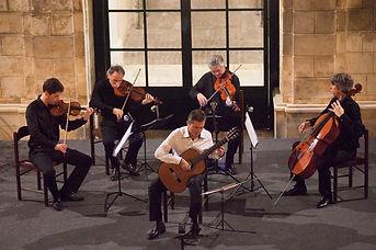 Simon Schembri with Parisii Quartet