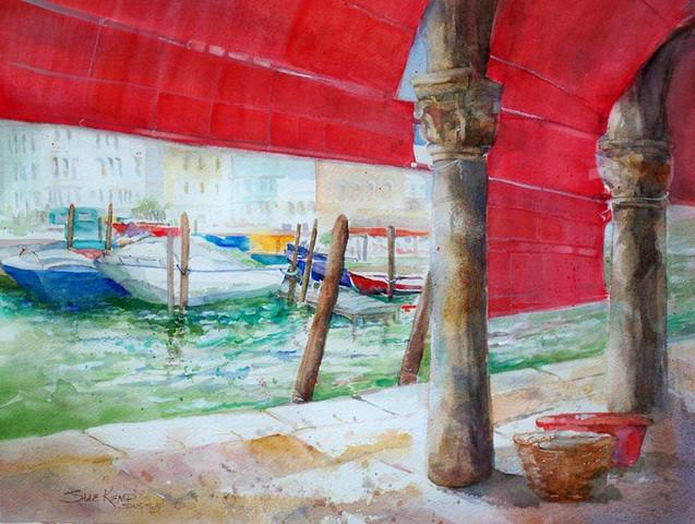 View from Rialto Market