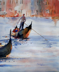 """""""Crossing the Canal©"""""""