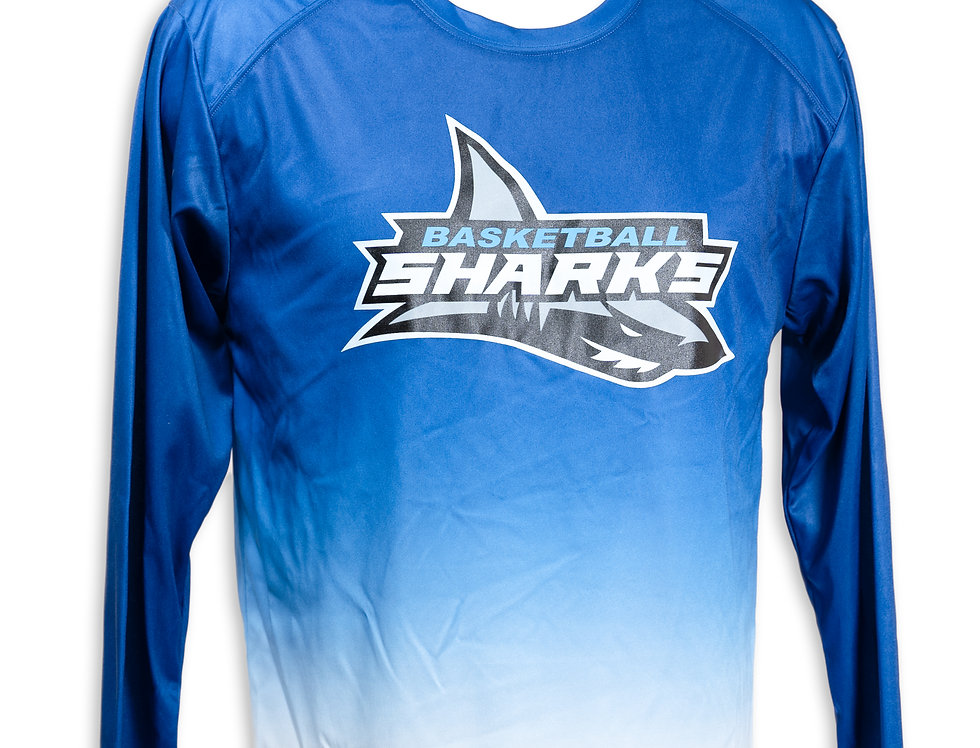 Sharks Long Sleeve Dry Fit
