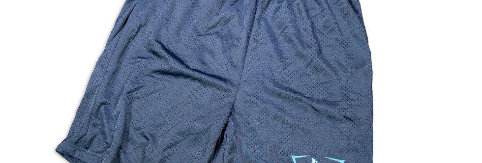 Navy Blue Sharks Shorts