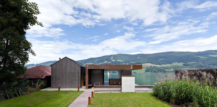 Badehaus Familie D., Mondsee / Architekten Luger & Maul, 2015