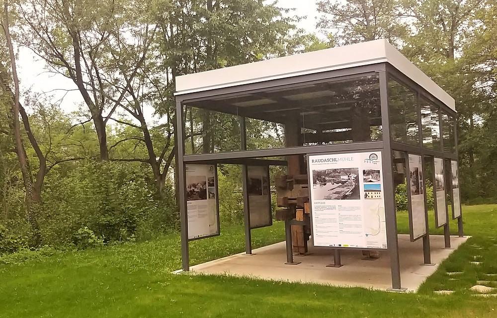 Pavillon bei der Wengermühle, Lenzing / Walter Stelzhammer, 2020