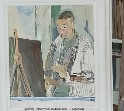 Anton Wichtl lukubriert2_GalerieAndreaJu