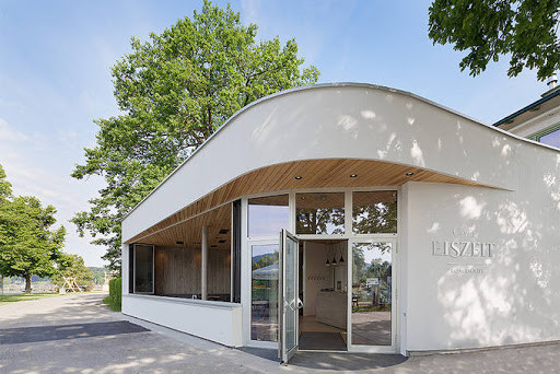 Café Eiszeit / Moser und Hager Architekten, 2016