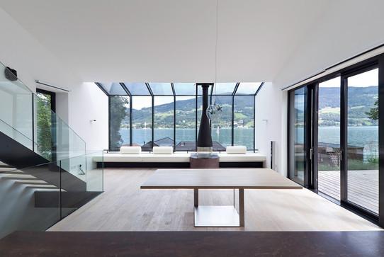Badehaus Familie D., Mondsee / Architekten Luger & Maul, 2015.