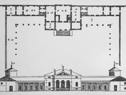 Villa Saraceno_Plan_Quattro Libri
