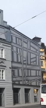 Galereie 422, Gmunden / Fassadengestaltung: Peter Kogler