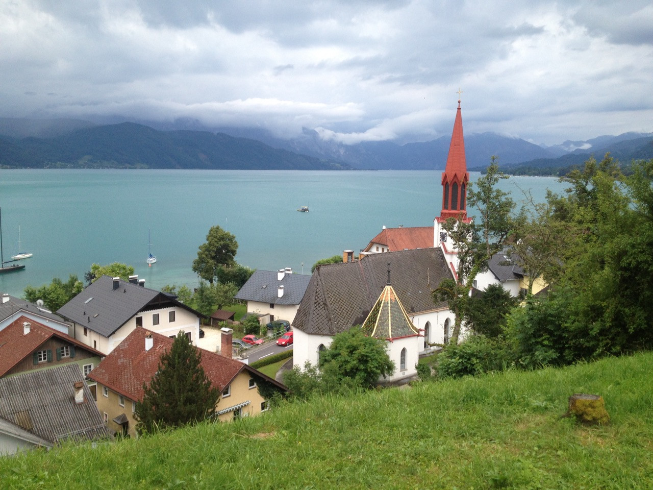 am Attersee