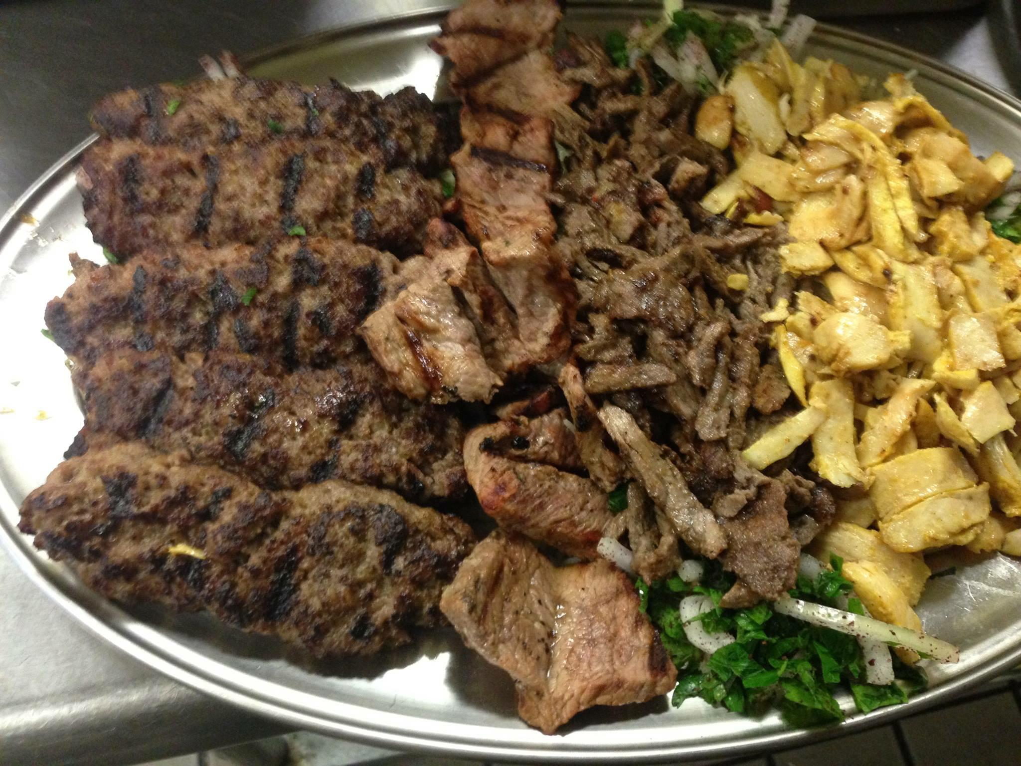 Mediterranean Grill platter