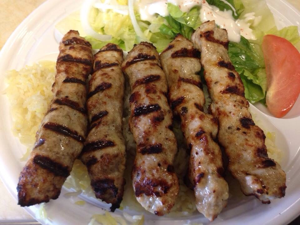 Chicken Kebob Plate