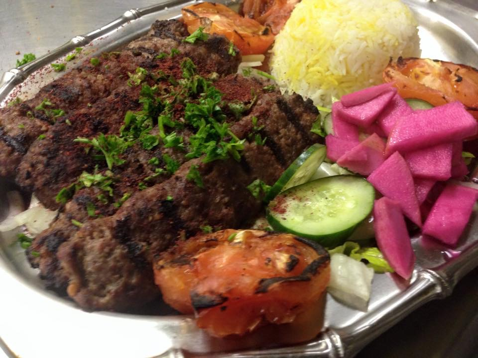 Kefta Kebab Plate