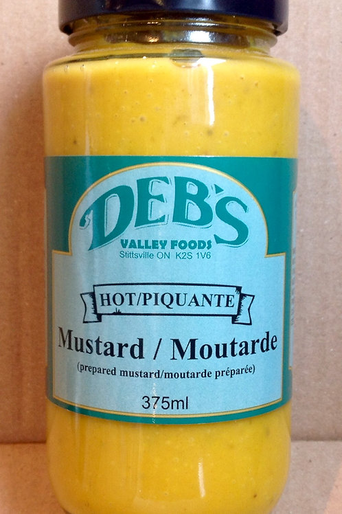 Deb's Valley Foods Hot Mustard