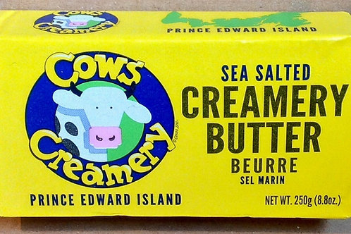 COWS Creamery Sea Salted Butter