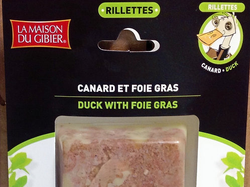 Duck Rillettes with Foie Gras