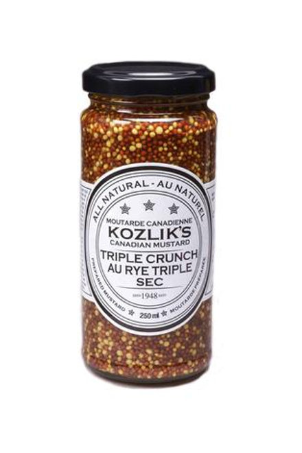 Kozlik's Triple Crunch Wholegrain Mustard