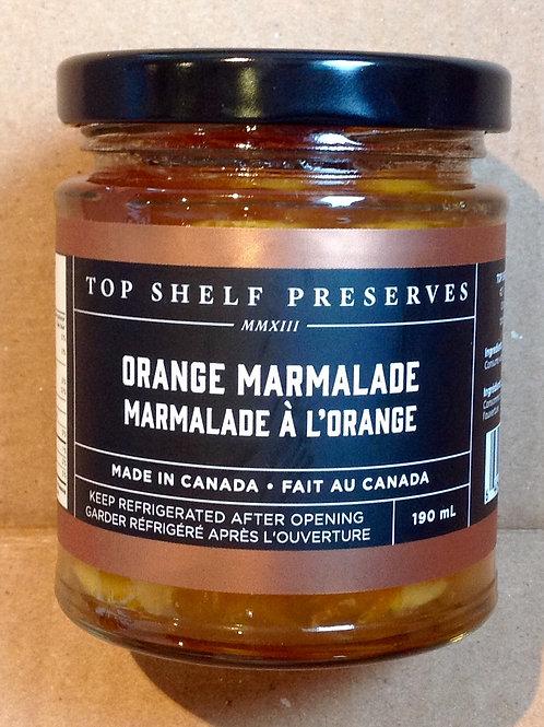 Top Shelf Orange Marmalade