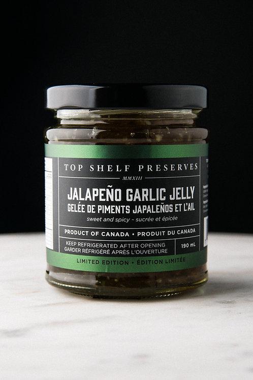 Top Shelf Jalapeno Garlic Jelly