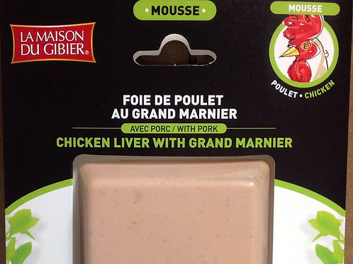 La Maison du Gibier Chicken Liver Mousse with Grand Marnier