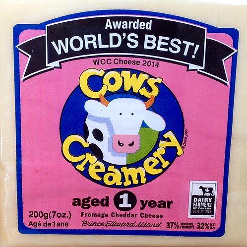 Cows Creamery 1 Year Old Cheddar