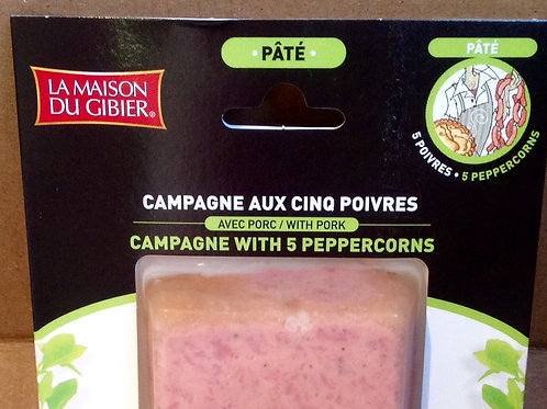 Pate Campagne with 5 Peppercorns