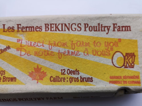 Bekings Farm Fresh Eggs