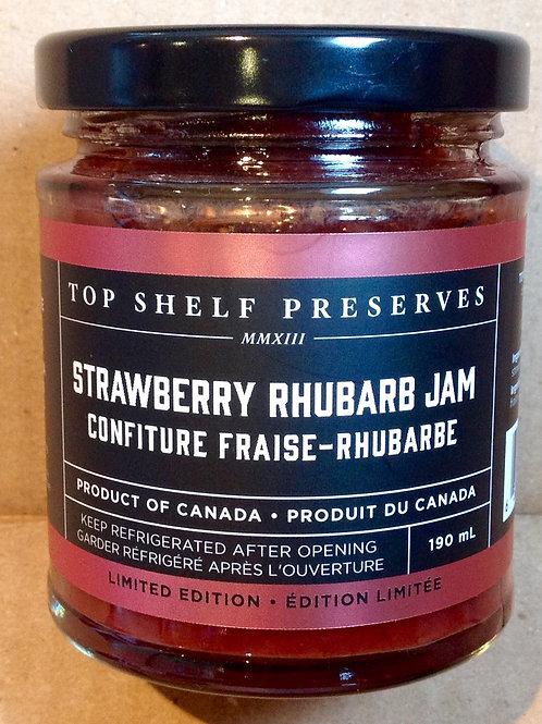 Top Shelf Strawberry Rhubarb Jam