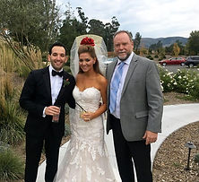 Sonoma destination wedding rabbi