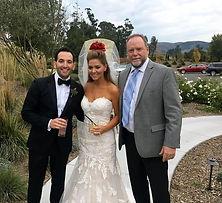 Sonoma destination wedding rabbi