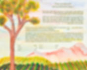 ketubah wine country