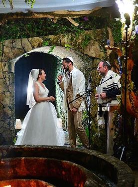 Jewish vineyard wedding