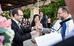 Jewish interfaith wedding Napa Sonoma