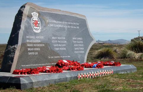 HMS glamorgan memorial