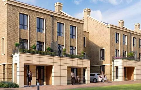 laminate stone cladding installations for new developments