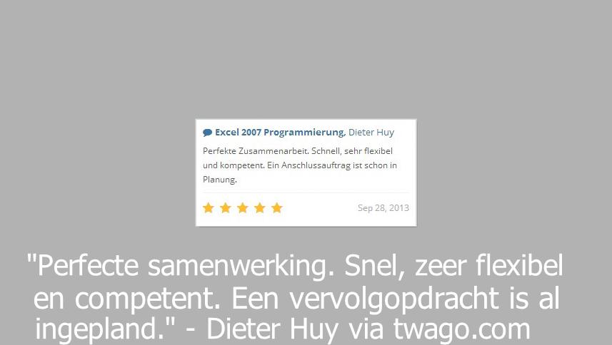 Dieter Huy via twago.com