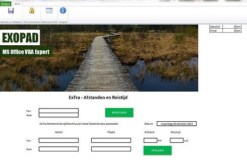 ExTra - Ritten-en reiskostenadministratie